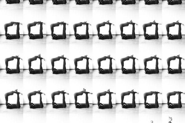 black and white pattern photography by inge van heerde