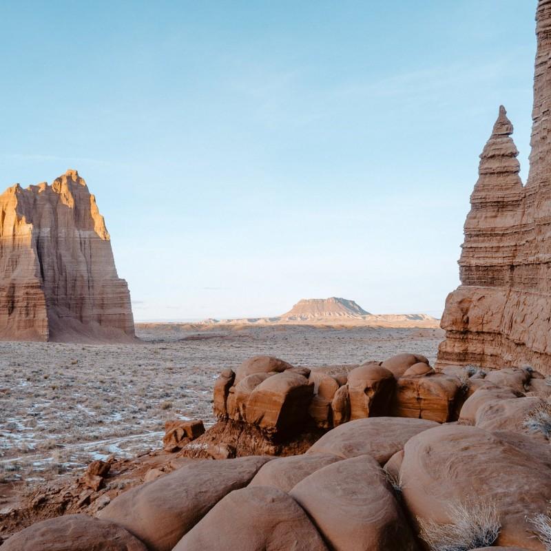 Fotografía de paisajes en color en Utah, EE. UU., por Cody Cobb