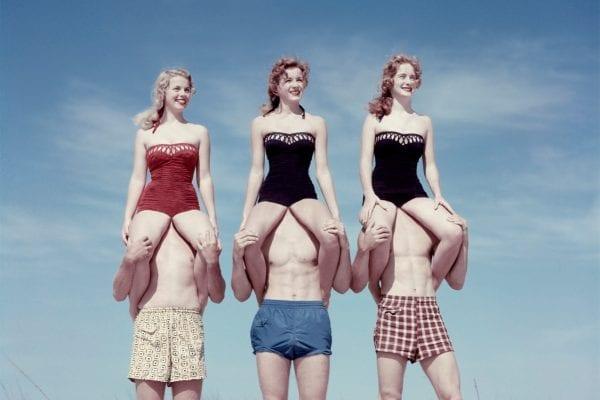 foto a colori con photoshop da una banca di immagini vintage