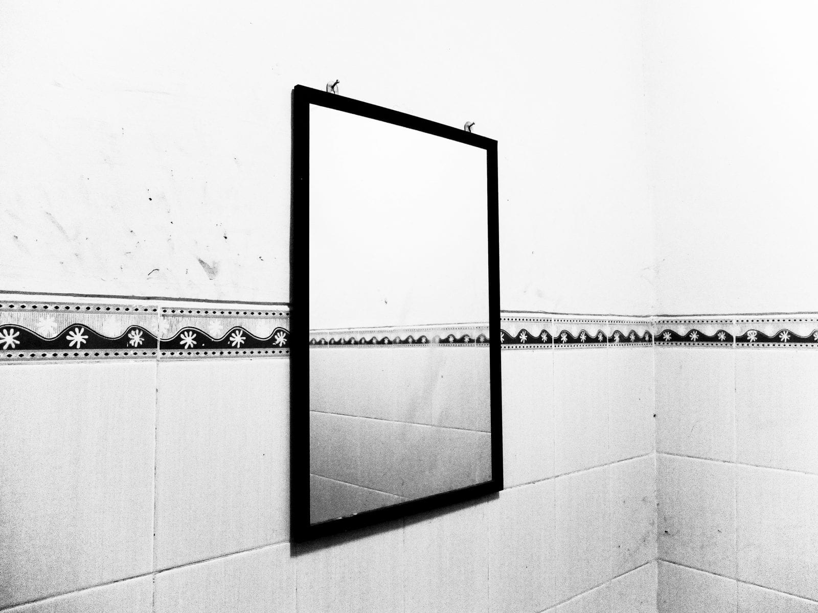 mirror black & white, contrast photography by Aji Susanto Anom