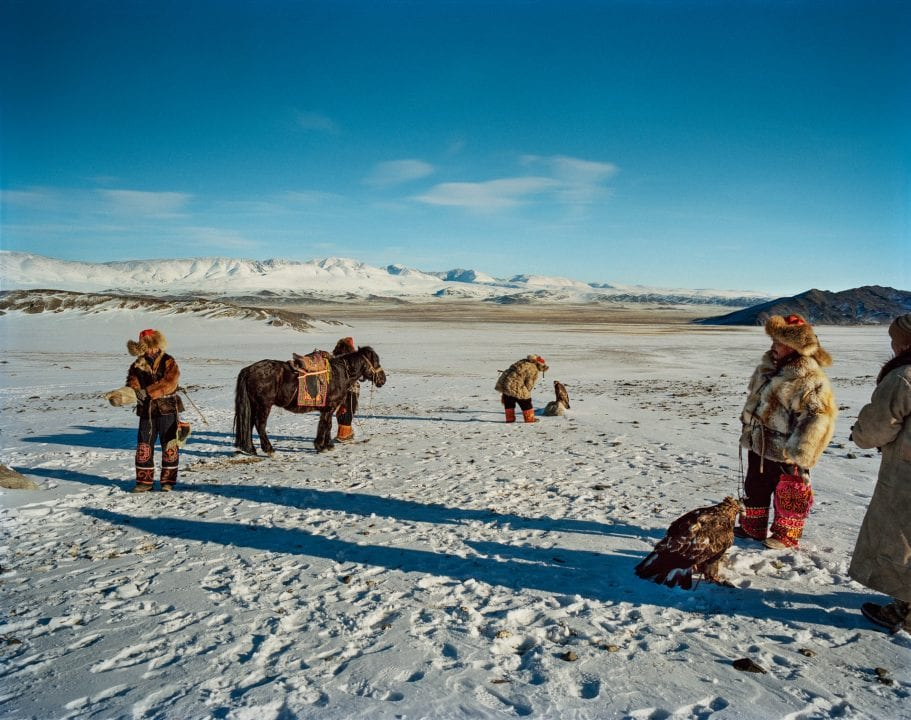color and landscape photography in Mongolia