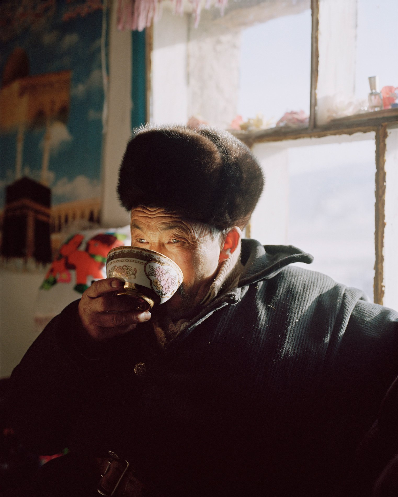 color and portrait photography in Mongolia