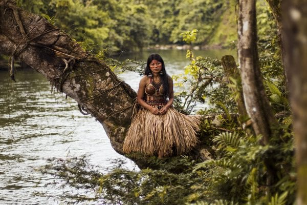 woman portrait photography in  the amazon rainforest color by mihaela noroc, the atlas of beauty series