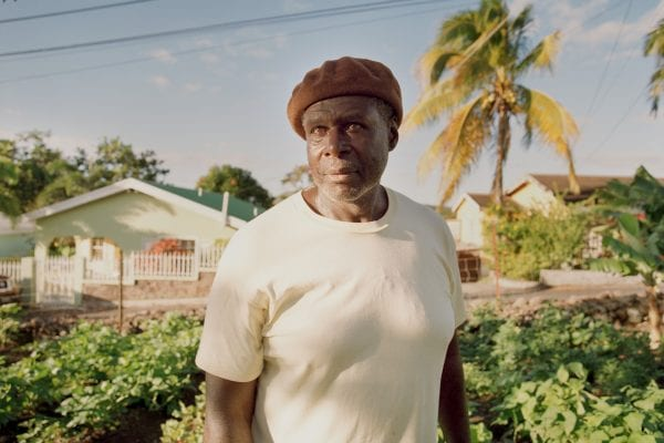 man color portrait photography in the Caribbean island of Nevis, by Catherine Hyland