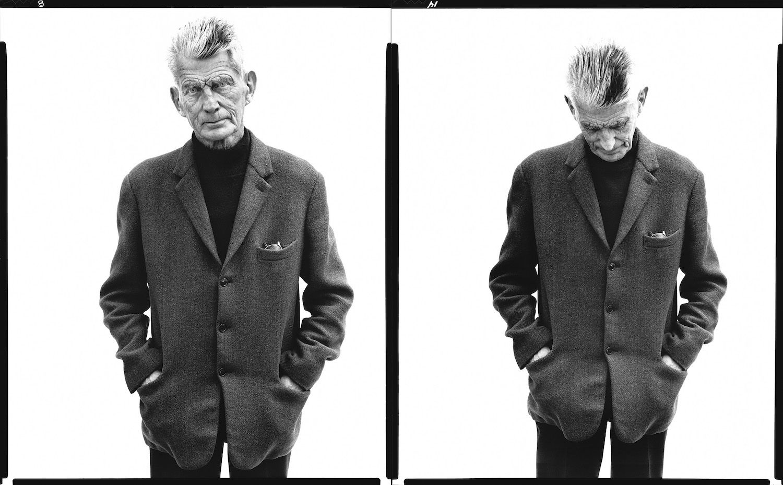 Samuel Beckett Black and White Photography Richard Avedon