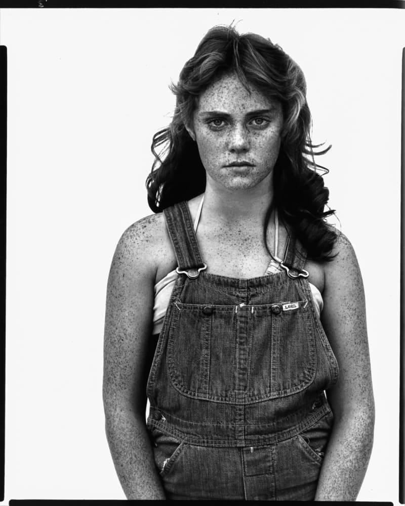 Sandra Bennett Black and White Photography by Richard Avedon