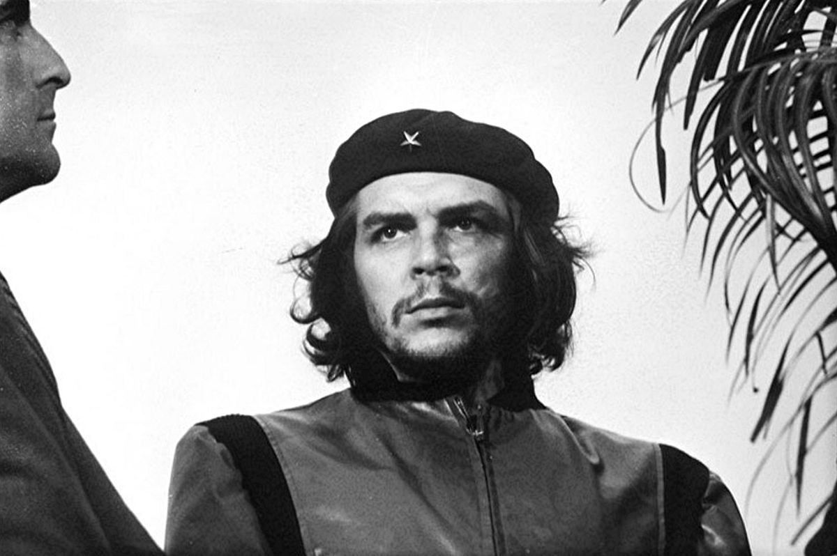 Ernesto Che Guevara, 1960 Schwarzweißfotografie von Alberto Korda in Kuba