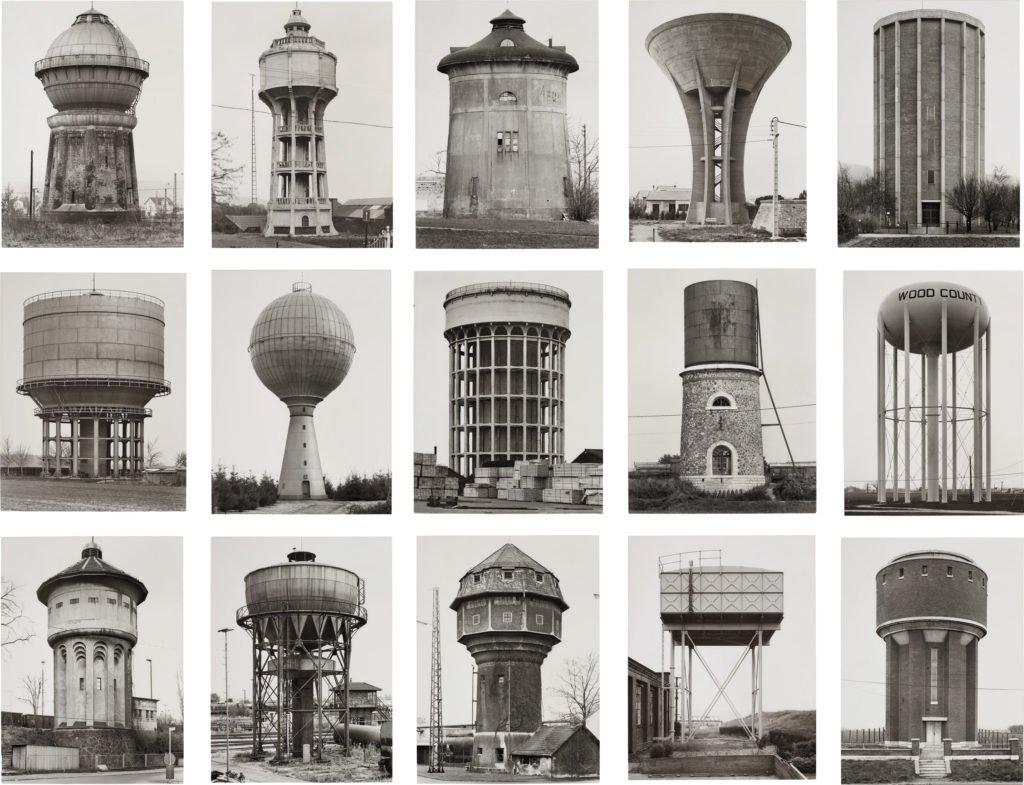 "Bernd & Hilla Becher - ""Wasserturm"", 1965-1997 Germany"