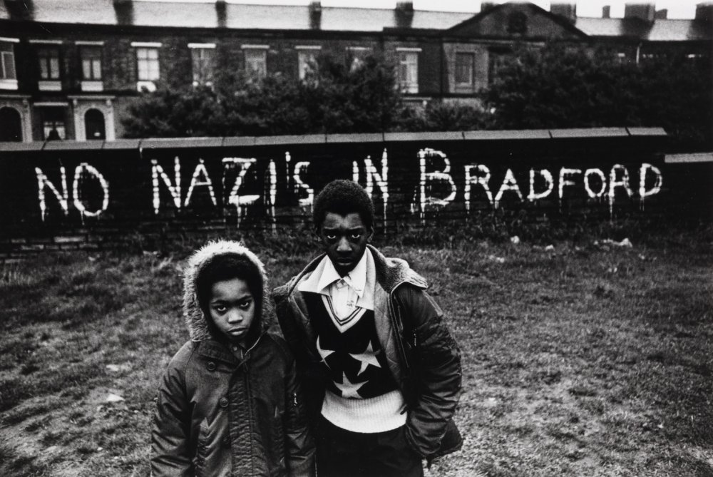 No Nazis in Bradford, Black and White Photography by Don McCullin, Children in England