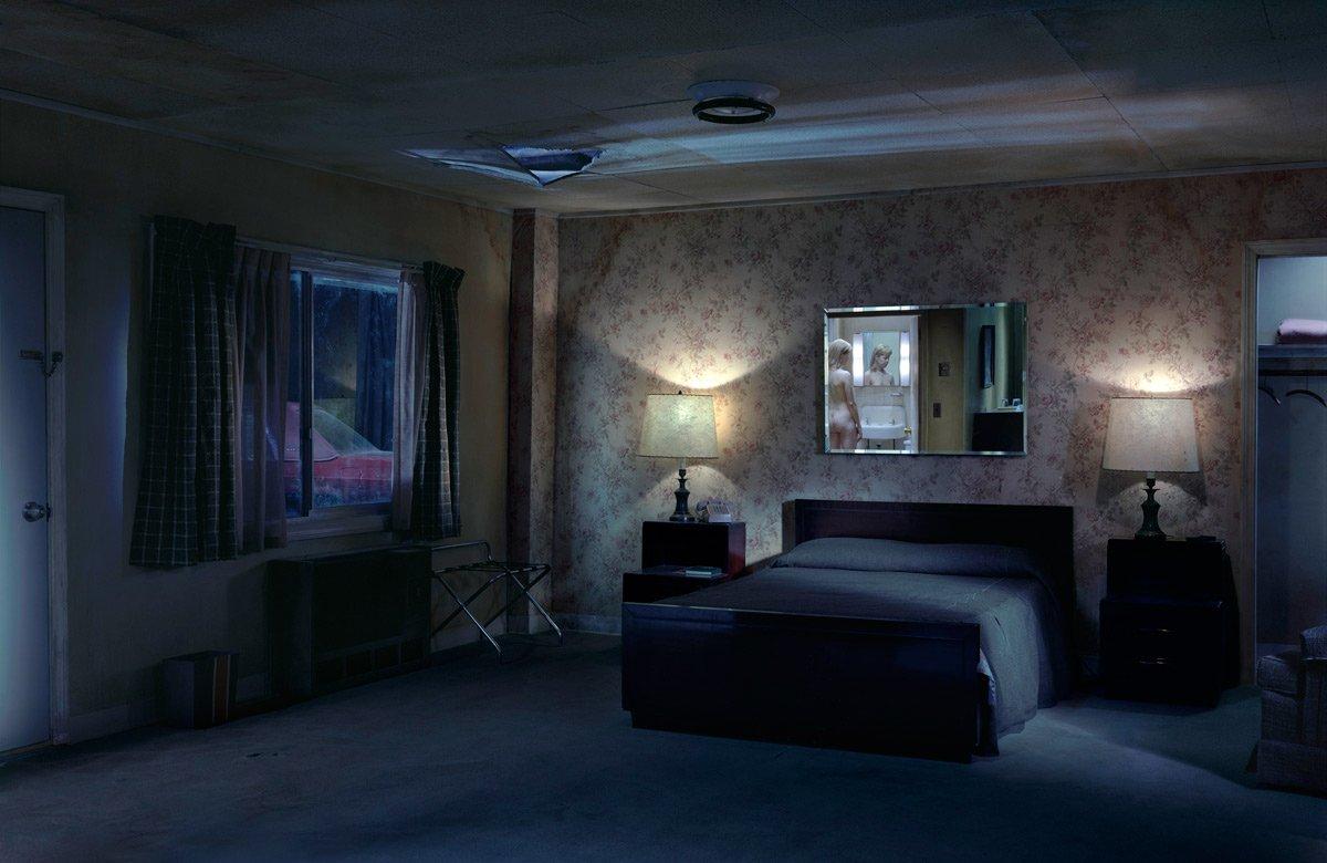 Lampe de chambre Photographie couleur Gregory Crewdson