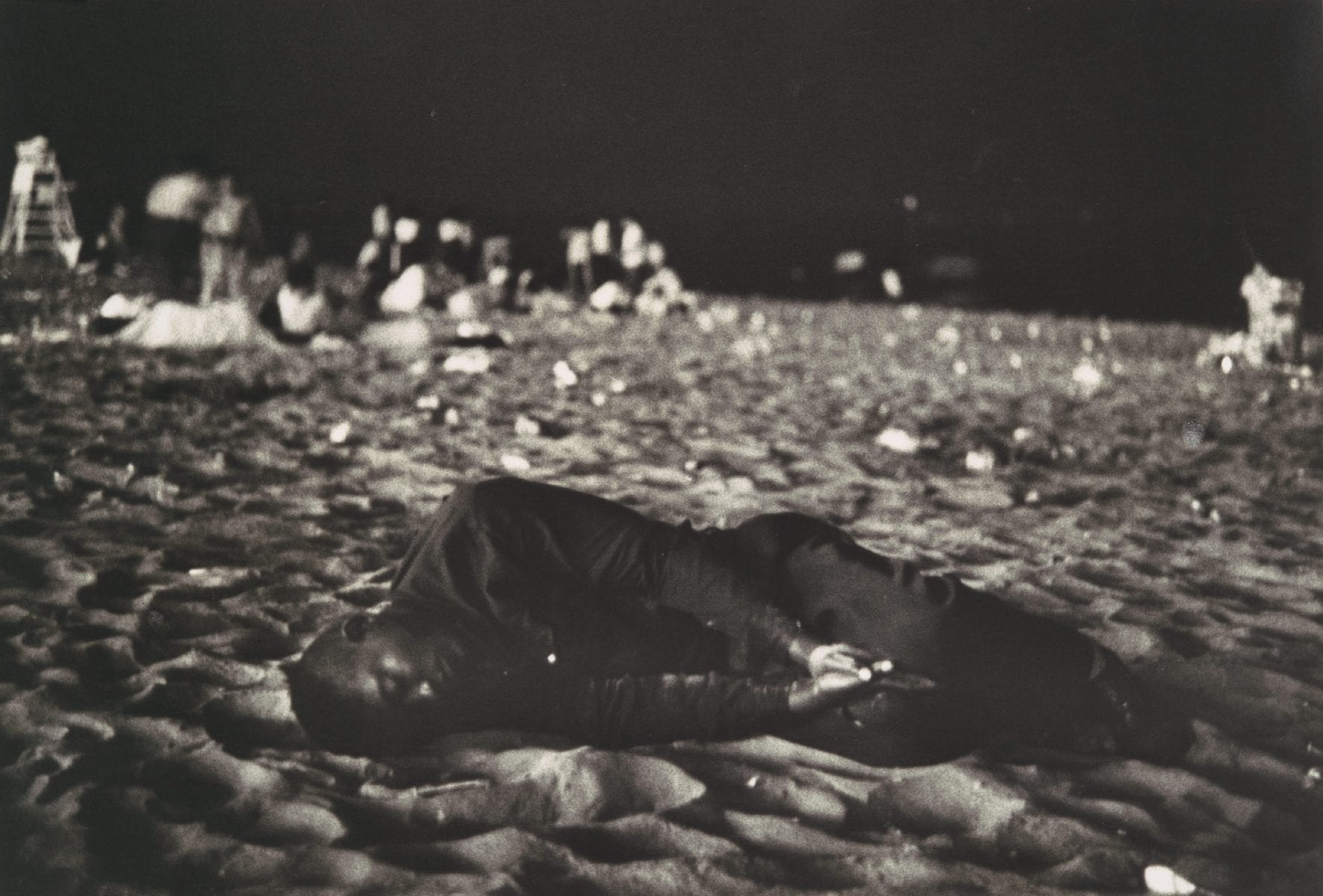 Black & White 七月四日,美国康尼岛,1958年©Robert Frank Photography and dreams