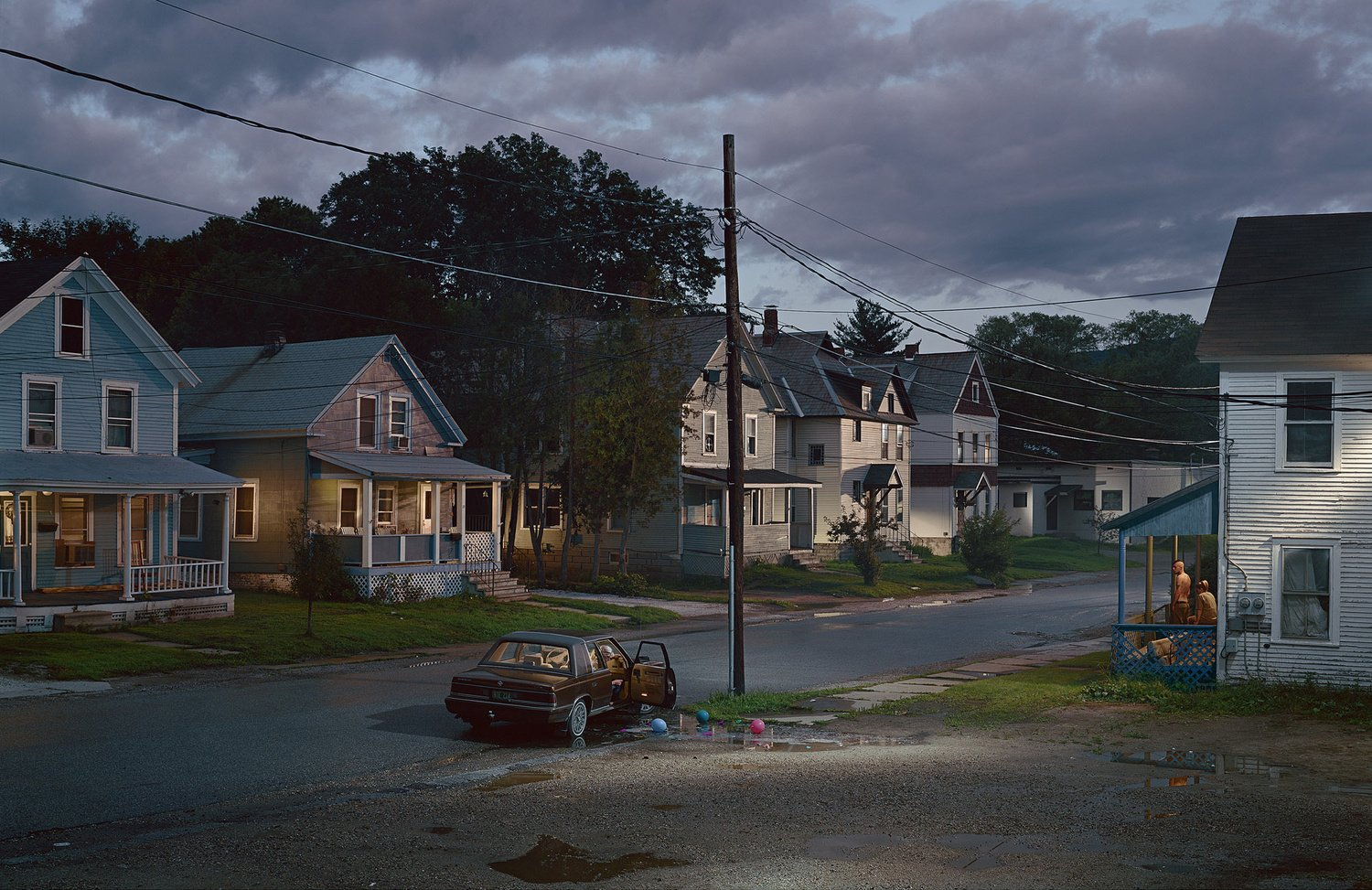 Coche Suburban Color Photography Gregory Crewdson