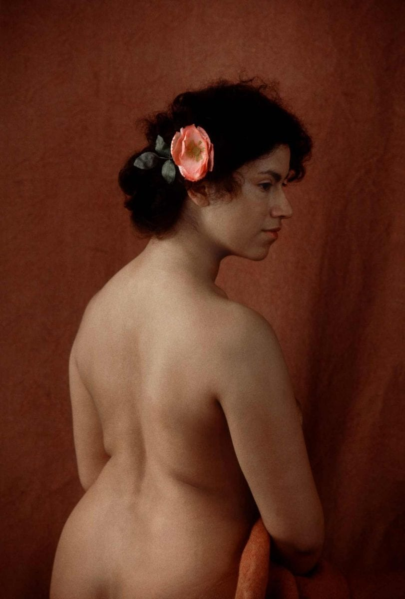 Painting like Colour Photography Maya, 1983 de Frank Horvat