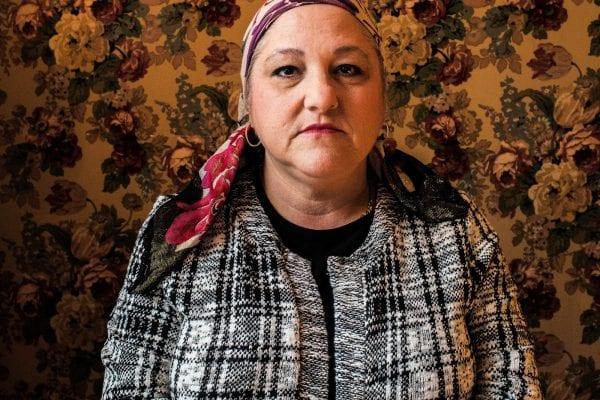 Portrait photograph of a woman