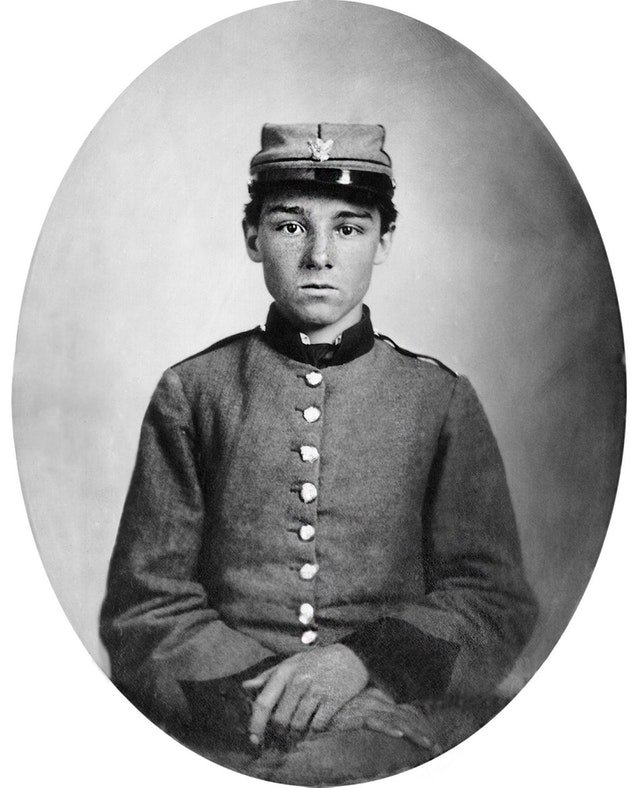 Portrait Photography of Pvt. Edwin Francis Jemison, 2nd Louisiana Regiment, C.S.A