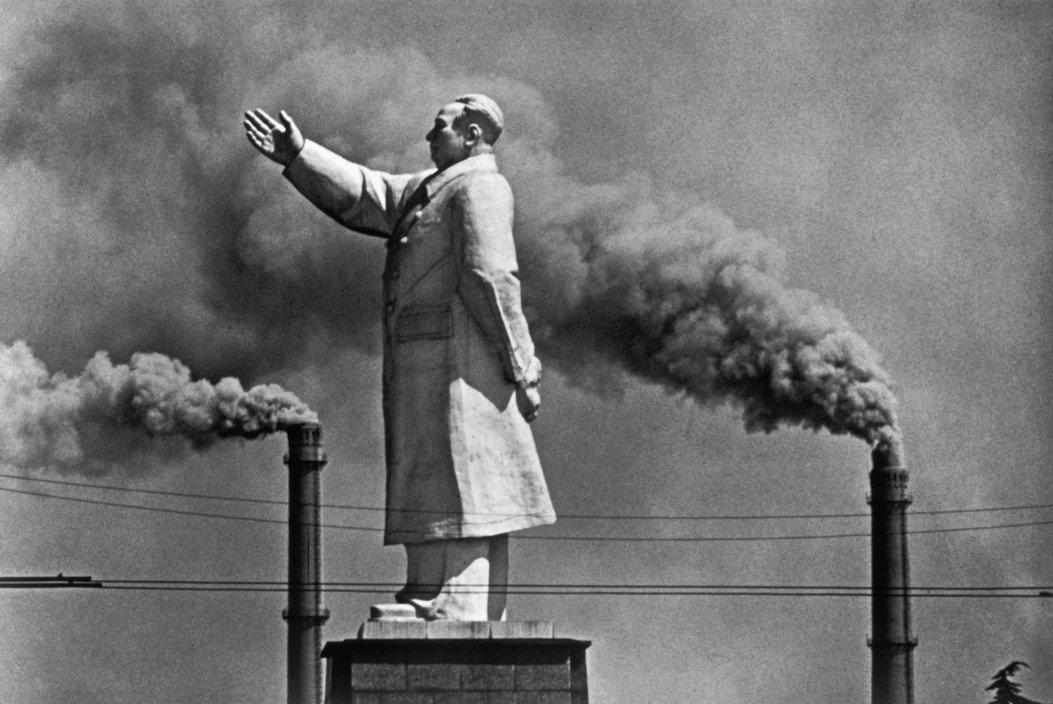 Mark Riboud On the Yangtze, 1971 Photographie noir et blanc Chine
