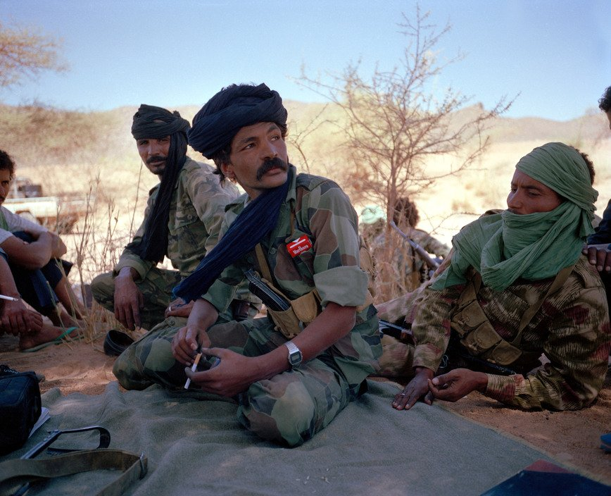 Raymond Depardon - Combattenti per la libertà Tuareg, Mali 1990