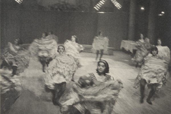 French Cancan - Paris - Black and White Photography by Ilse Bing