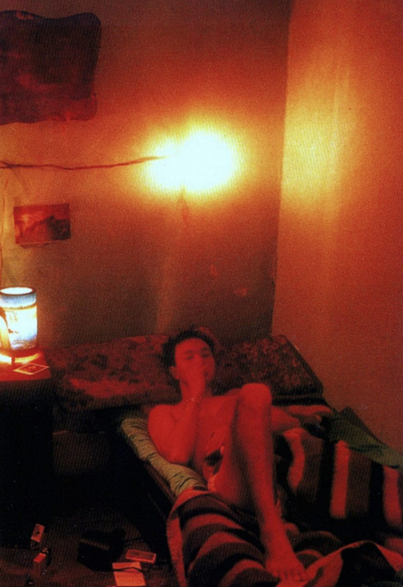 Behind the scenes on set of Days of Being Wild by Wong Kar Wai Christopher Doyle