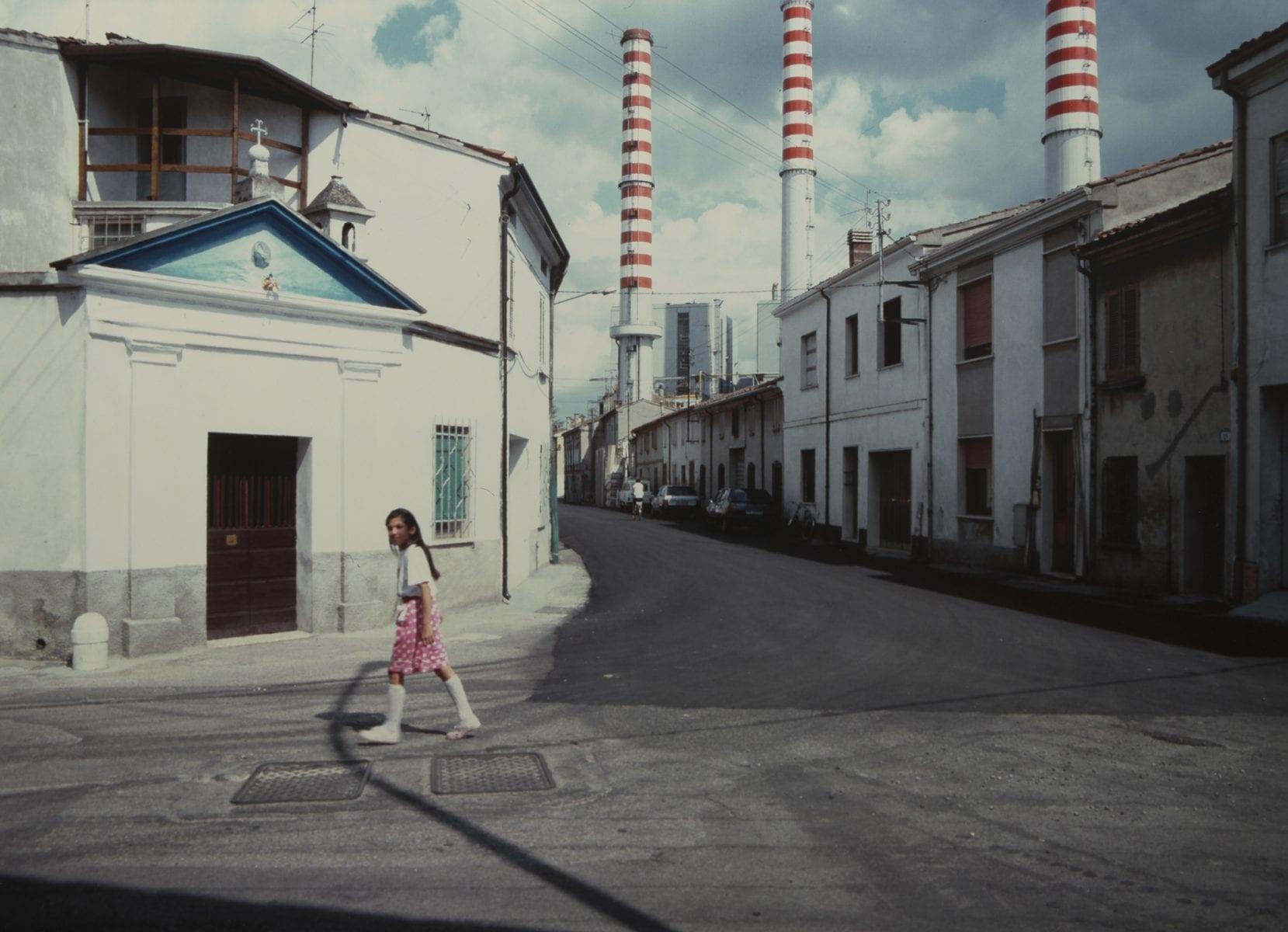 Color Photography by Luigi Ghirri Centrale Elettrica (Power Plant), Ostiglia, Italy 1987