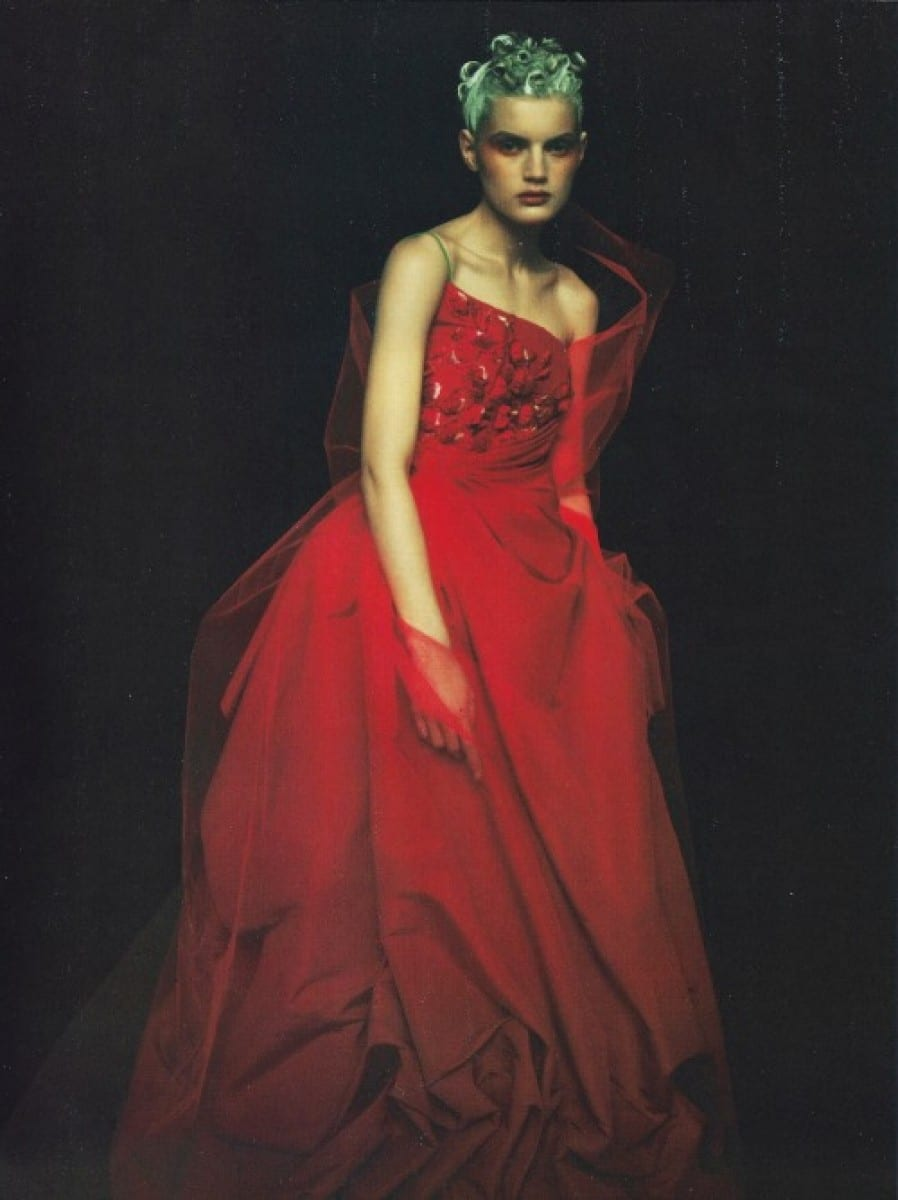 Fashion Photography by Paolo Roversi - Guinevere van Seenus for Vogue Italy, 1996