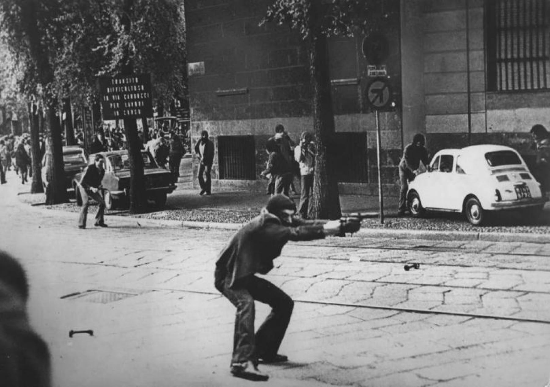 Black and White Photography by Paolo Pedrizzetti - Milan,May14, 1977