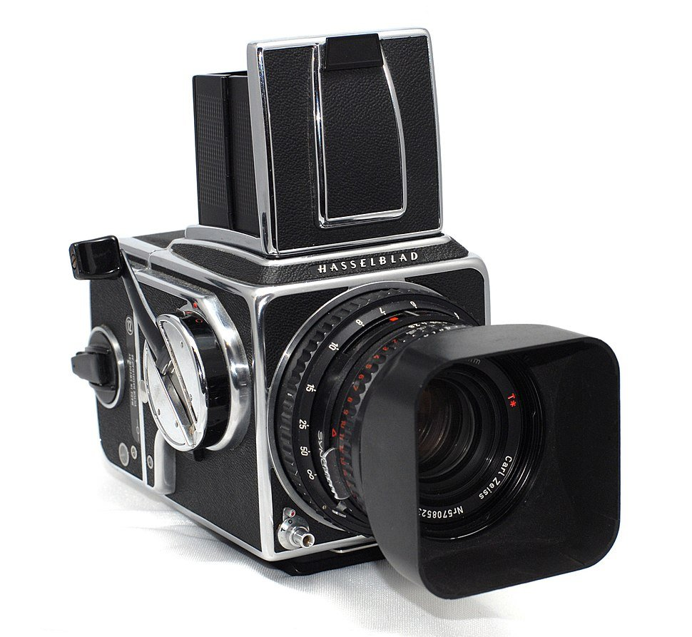 Hasselblad 500 C/M with Zeiss lens