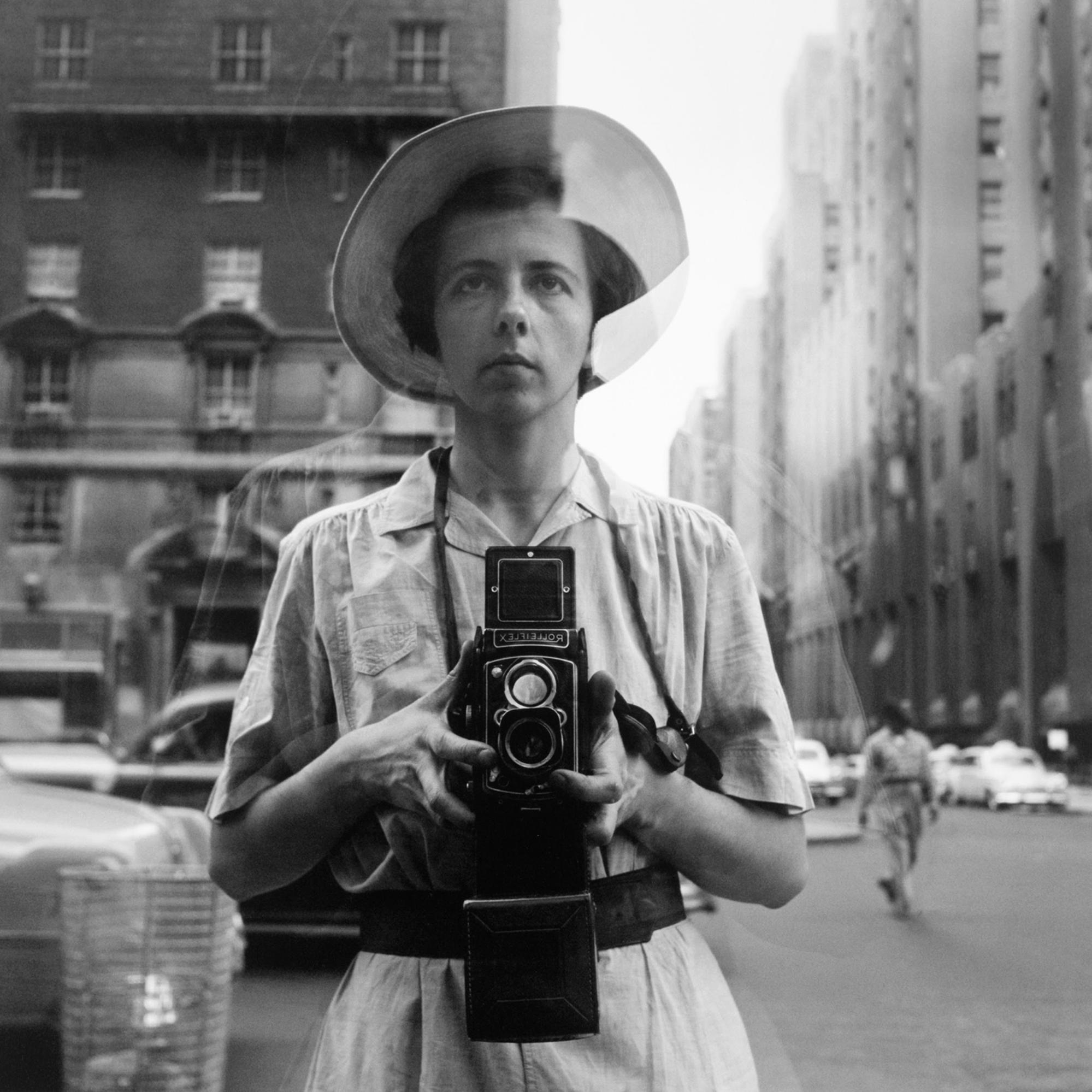 Autoritratto, New York, data sconosciuta © Vivian Maier