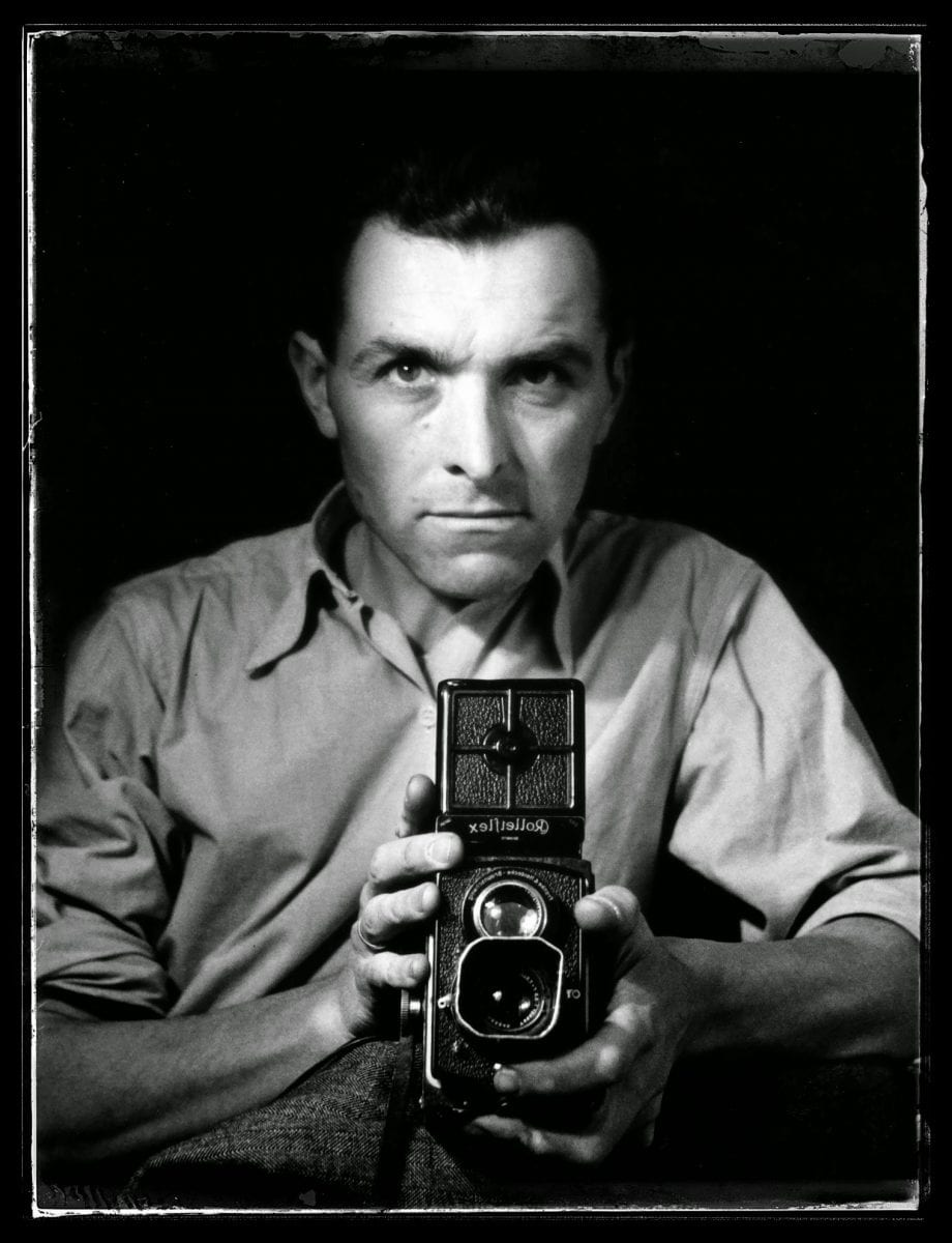 Robert Doisneau Self-portrait Rolleiflex
