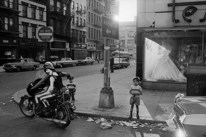 New York City, 1968 © Joel Meyerowitz