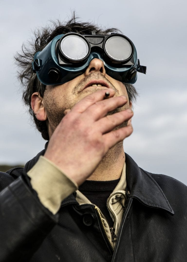 David Shayler watching a solar eclipse from the top of Roseberry Topping, the same mountain from which delivered his own Sermon on the Mount. David Shayler the Christ was born December 24th, 1965