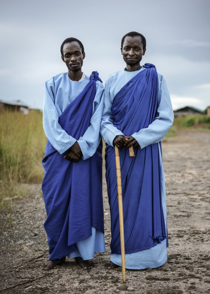 Jesus of Kitwe's two most trusted disciples, Nkumbusko and Chibwe