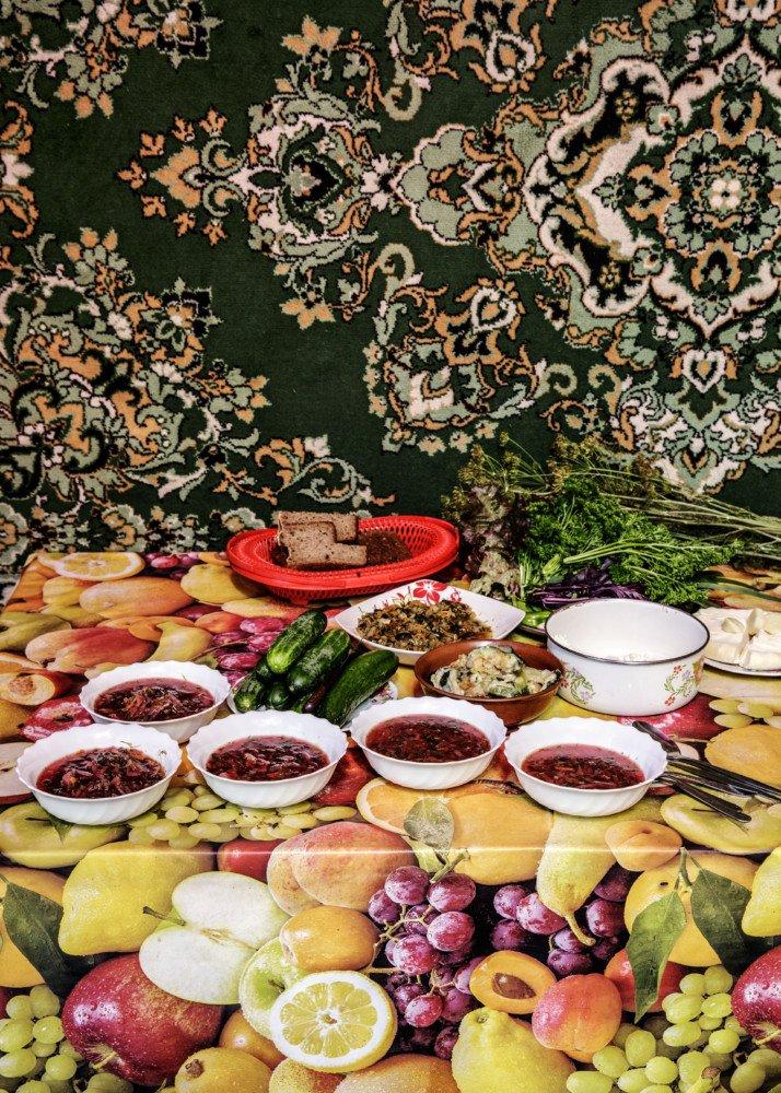The followers of Vissarion grow their own vegetarian food, Krasnoyarsk Territory, Russia, 2015