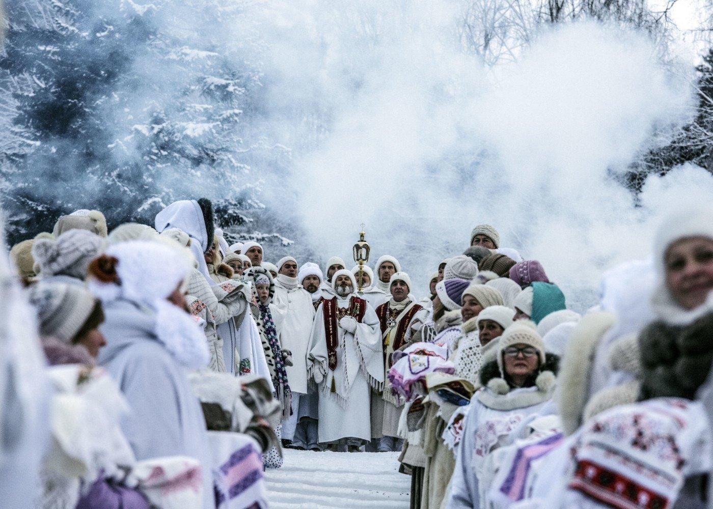 Choir Hymns on the Birthday of Vissarion, Krasnoyarsk Territory, Russia, 2015