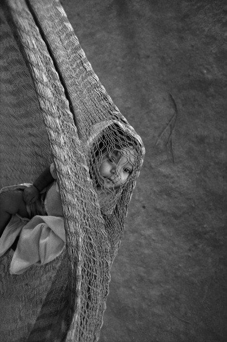 Mesa Grande (San Marcos) Child in a kindergarden, Honduras, 1988 © John Vink