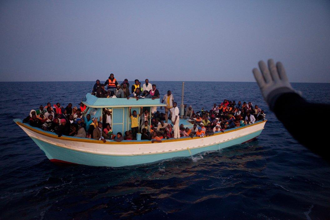 Lampedusa, Italy, 2011 © Patrick Zachmann / Magnum Photos