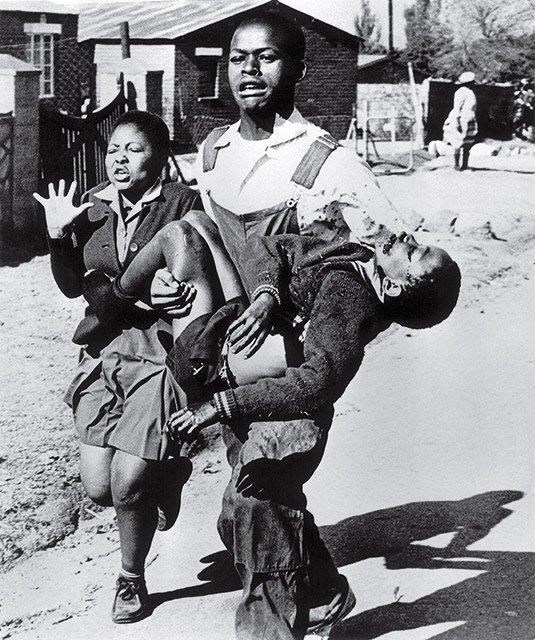 Sam Nzima Le soulèvement de Soweto, 1976