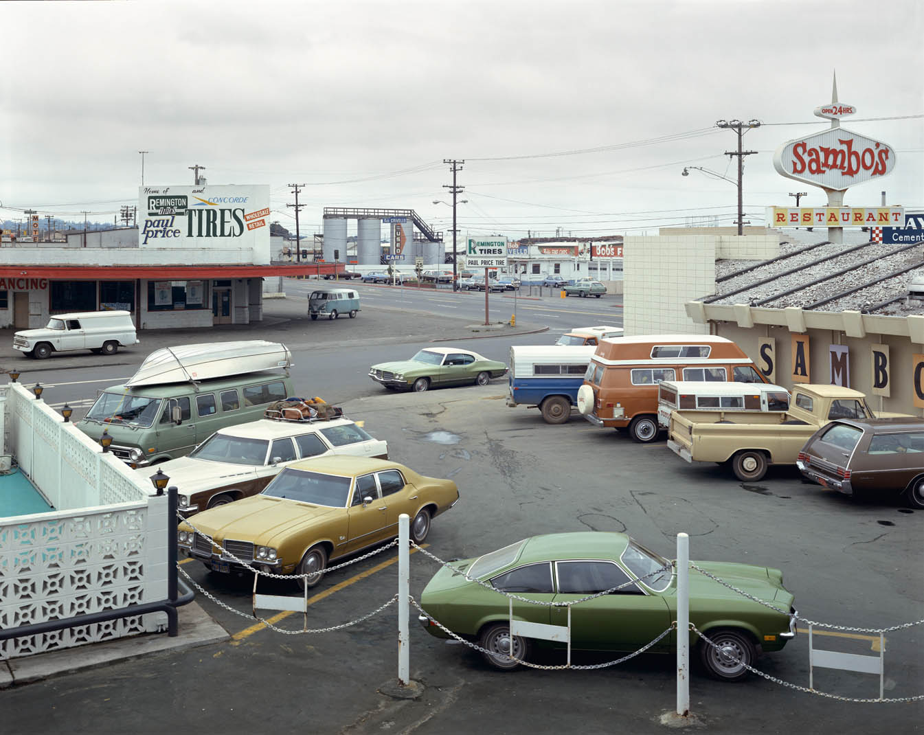 Fifth Street y Broadway, Eureka, California, 2 de septiembre de 1974 Stephen Shore