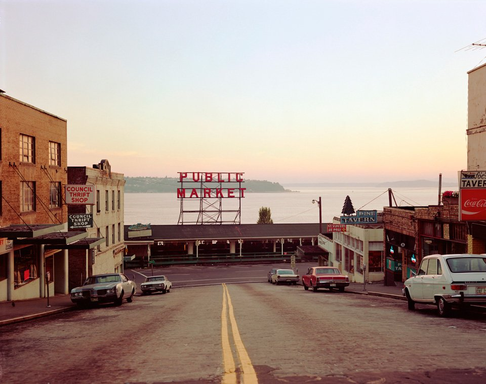 Pine Street, Seattle, 1974