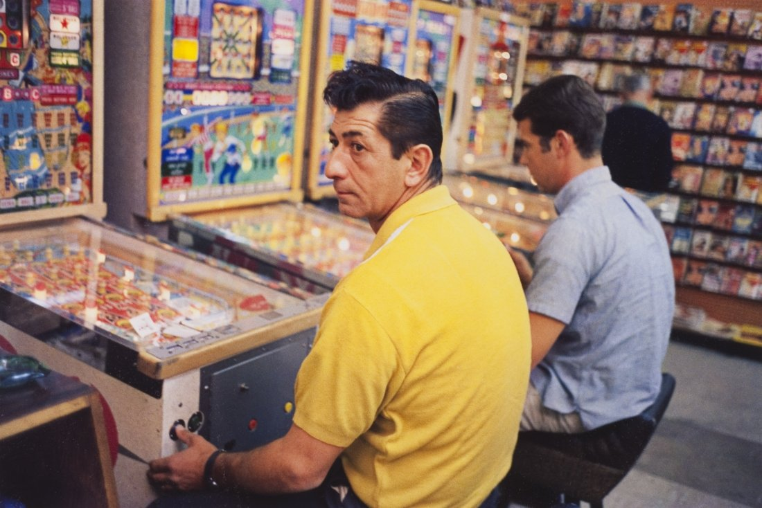 Yellow Shirt Guy at Pinball Machine, Las Vegas, 1965-68 William Eggleston Los Alamos