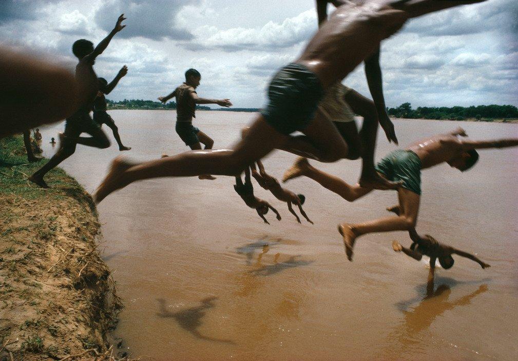 BRAZIL. Amazonas. Leticia. The Amazon river 1966 Bruno Barbey