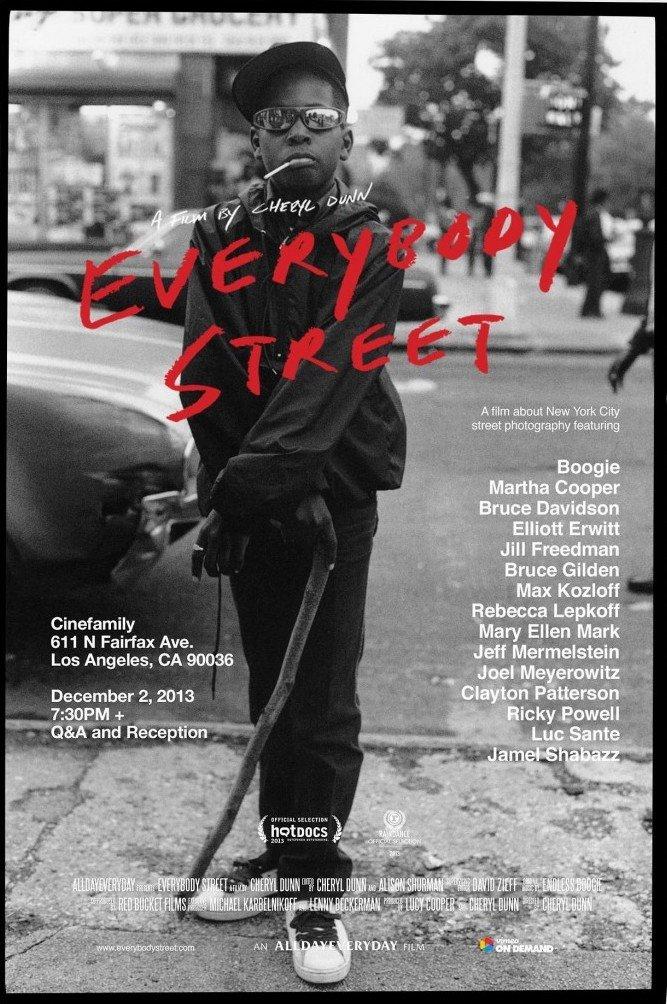 Couverture Everybody Street par Cheryl Down