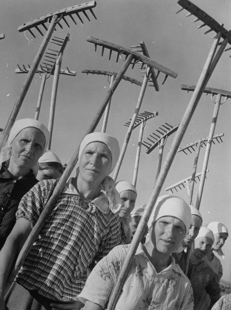Russie, Margaret Bourke-White, 1941 Femmes légendaires dans la photographie