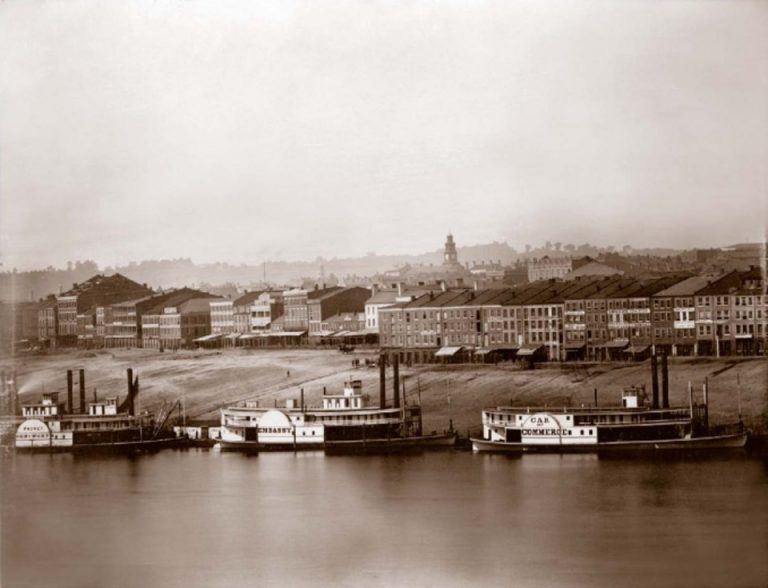 Ohio River in Newport, Kentucky 1848 © Charles Fontayne/W.S. Porter History of Landscape Photography