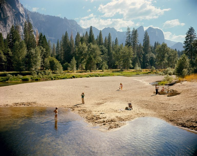 Photographie de paysage nageurs dans le parc national de Yosemite, Californie, USA Stephen Shore