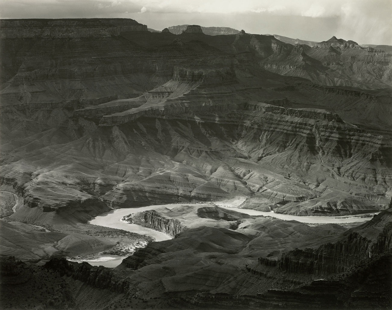 Grand Canyon, Arizona, 1941 © Edward Weston Histoire de la photographie de paysage
