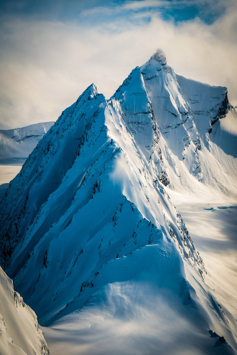 Landscape Photography, mountain with snow