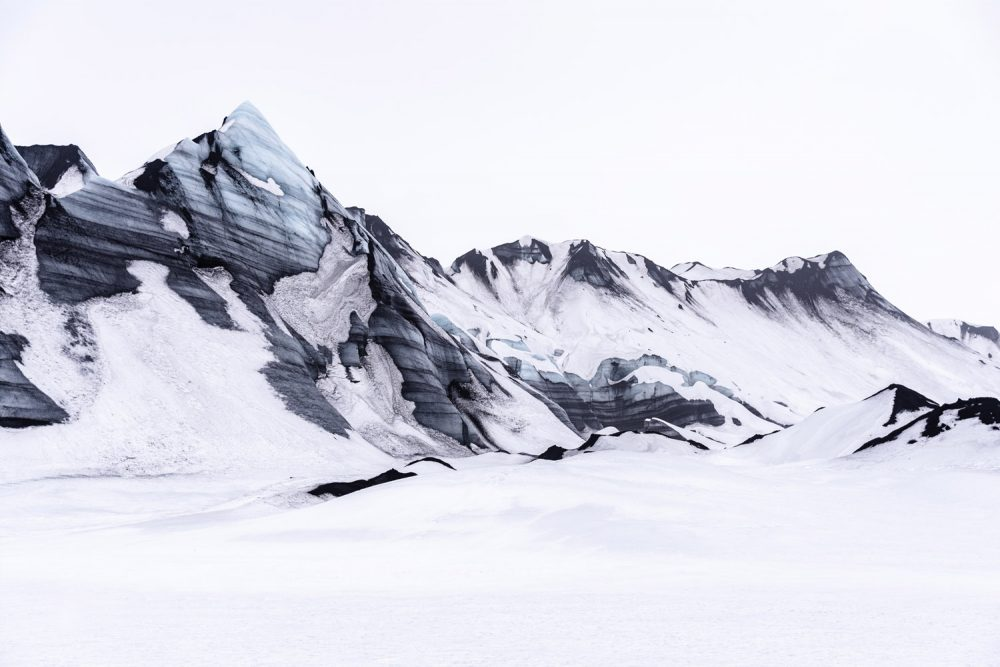 Landscape Photography, mountain with snow in Iceland