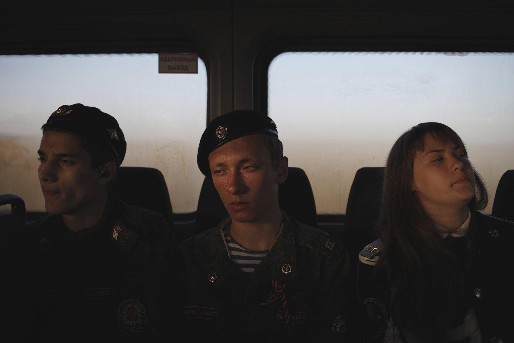 Studenti della General Ermolov Cadet School Stavropol Russia fotografia documentaria di Eduard Korniyenko