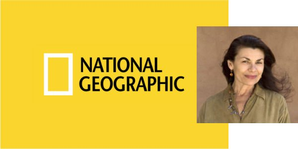 Judge Maggie Steber Profile Picture National Geographic Logo